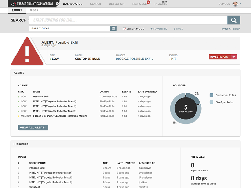 AWS Marketplace: FireEye Threat Analytics Platform (TAP)